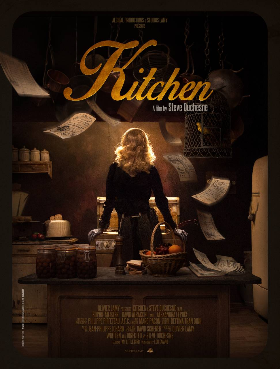 Kitchen a film by Steve Duchesne.